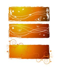 Free Hq Banner Design Royalty Free Stock Photo - 6267685