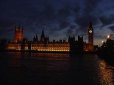 Free The Houses Of Parliament, London Stock Photography - 6268402