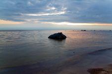 Free Sea Sunset Finishing Stock Image - 6269021