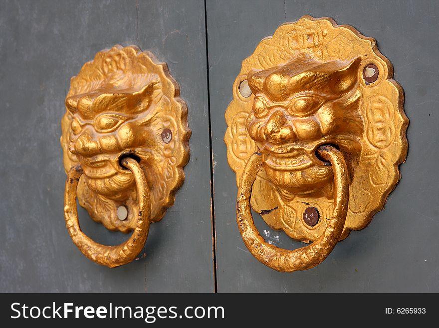 Chinese elements - door to door Central