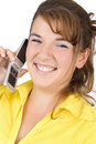 Free Girl Talking On The Phone Royalty Free Stock Photography - 6273057