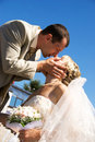 Free Bride And Groom Outdoor Royalty Free Stock Photography - 6275767