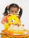 Free Asian Girl Celebrating Birthday Royalty Free Stock Images - 6277939