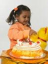 Free Asian Girl Celebrating Birthday Stock Photo - 6277950
