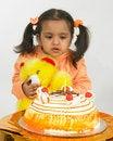 Free Asian Girl Celebrating Birthday Royalty Free Stock Images - 6277959
