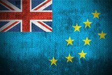 Free Grunge Flag Of Tuvalu Royalty Free Stock Photos - 6270098