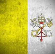Grunge Flag Of Vatican Royalty Free Stock Photos