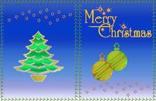 Free Christmas Card Stock Image - 6271031