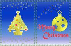 Free Christmas Card Stock Image - 6271051