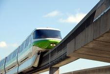 Free Monorail Train Stock Photography - 6271192
