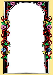 Free Floral Frame Royalty Free Stock Images - 6271319