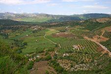 Free Outskirts Of Ronda City Stock Image - 6271571