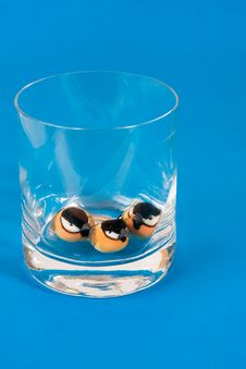 Free Three Birds In A Glass Stock Images - 6271604