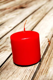 Free Red Candle Stock Photos - 6272133
