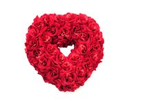 Free Red Roses Heart Stock Photo - 6272510
