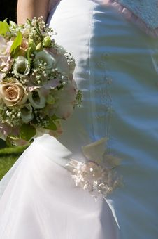 Free Bunch Of Flowers Of Bride Stock Image - 6272601