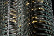 Free Detail Of Petronas Towers Royalty Free Stock Photography - 6272867