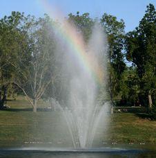 Free Fair-weather Rainbow Royalty Free Stock Photo - 6273615