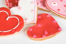 Heart Cookies Royalty Free Stock Image