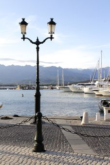 Free Calvi Port Marina Corsica Stock Photography - 6273772