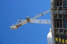 Free Crane At Constructiion Site Stock Photography - 6273892