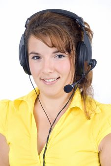 Free Customer Service Agent Stock Photo - 6274060
