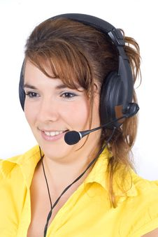 Free Customer Service Agent Stock Photos - 6274113