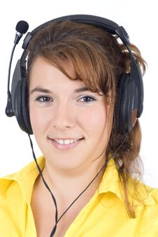 Customer Service Agent Stock Photography