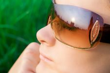 Free Young Girl In Sunglasses Stock Images - 6274324