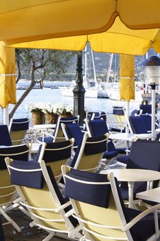 Free Portside Restaurant, Calvi Corsica Royalty Free Stock Photo - 6274665