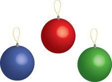 Free Christmas Balls Stock Photo - 6275180