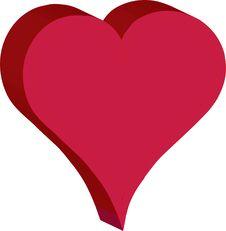 Free Heart Vector Royalty Free Stock Photos - 6275188