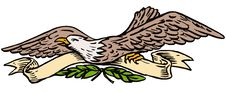 Free Eagle With Scroll Stock Photo - 6275550