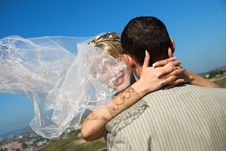 Free Groom And Bride Outdoor Stock Photo - 6275640