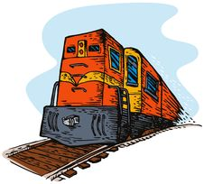 Free Train Stock Image - 6275901