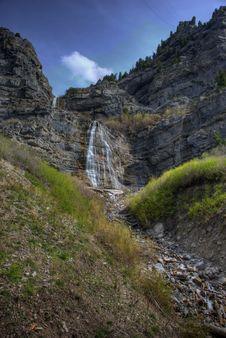 Free Spring Waterfalls Royalty Free Stock Photo - 6275945