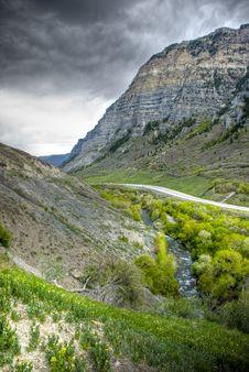 Provo Canyon Royalty Free Stock Photos