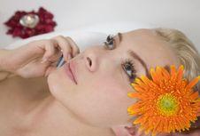 Free Woman Getting Massage Royalty Free Stock Image - 6276006