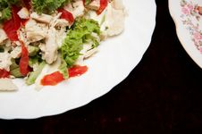 Free Meat Salad Royalty Free Stock Images - 6277199