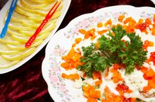 Free Food On The Table Royalty Free Stock Image - 6277206