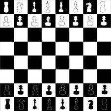 Free Chess Board Illustration Royalty Free Stock Image - 6277546