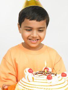 Free Asian Boy Celebrating Stock Photography - 6278012