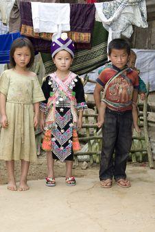 Free Children In Laos Stock Photos - 6279293