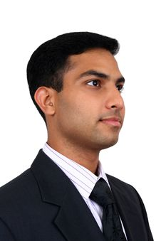 Indian Business Man Stock Photography