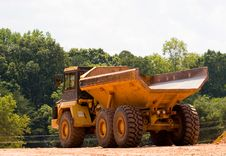 Free Great Dump Truck Stock Photography - 6279512