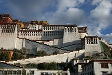 Tibet S Potala Palace In Lhasa Stock Image