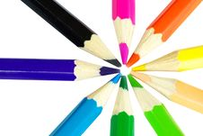 Free Color Pencils Royalty Free Stock Photos - 6279978