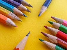 Free Drawing Pencils View Stock Photos - 62715883
