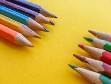 Free Colored Pencils View Stock Photo - 62716120