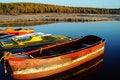 Free Boat At Sunrise Stock Image - 6284831